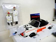 1:12 Premium ClassiXXs Porsche 911 Targa  Politie with Original Figures NEU NEW