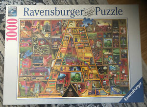 """New Ravensburger Puzzle """"Awesome Alphabet A"""" 1000 Pieces No. 198917 Game Fun"""
