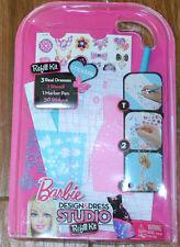 Barbie Design & Dress Studio Sticker Refill Kit - Challenge Your Imagination