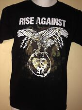 RISE AGAINST BAD RELIGION TOUR 2011 OUT OF PRINT SMALL  T SHIRT  PUNK ROCK
