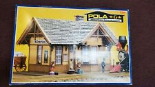 Pola G 907 Silverton Station in Box, G Scale - Partial Build - Nice!