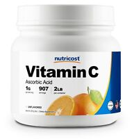 Nutricost Vitamin C Powder 2 LBS - Pure Ascorbic Acid - Immune System, Cooking