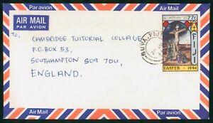 MayfairStamps Fiji Suva to Southampton England Air Mail 1994 Cover wwp62329