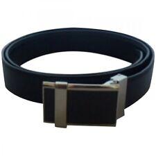Black Belt With Carbon Fiber Buckle.