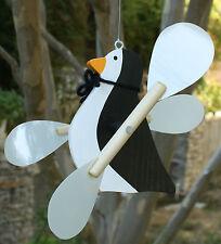 PENGUIN WHIRLIGIG / PENGUIN WHIRLYGIG / WHIRLYBIRD / GIG / WIND SPINNER-Hanging