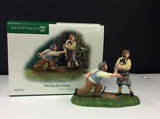 Dept 56 New England Village Pitching Horseshoes #56.57107 New/Old Stock