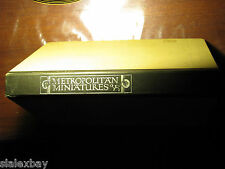 The Metropolitan Museum of ART IN MINIATURES Box Set of 6 Booklets & 144 Stamps