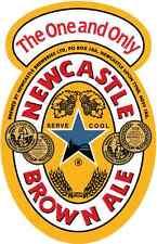 "Newcastle Brown Ale Beer Bumper Sticker 4"" x 5"""
