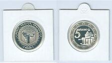 Francia 5 euro 2004 PANTHEON ARGENTO PP