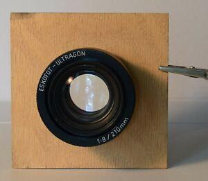 Eskofot-Ultragon f/8 210mm process lens large format