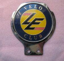 Velo LE Club Car Badge The Velocette motorbike
