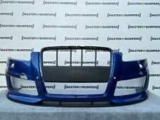 AUDI RS6 C6 4F 2008-2010 FRONT BUMPER IN BLUE WITH SPLITTER GENUINE [A184]