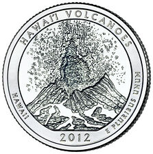 QUARTER DOLLAR DES ETATS-UNIS 2012 P - HAWAI'I VOLCANOES NATIONAL PARK