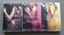MONICA MURPHY**Complete Fowler Sisters Series**  3 BOOKS  HTF  Tspbs
