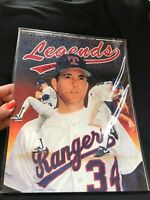 Legends 1991 Sept/Oct Sports Memorabilia Magazine Price Guide Rangers (C)