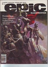 EPIC ILLUSTRATED #1 NMINT 9.6 Frank Frazetta,Silver Surfer,Galactus,Jim Starlin