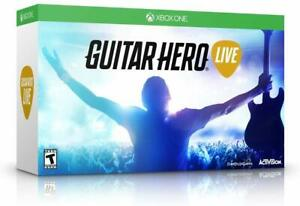 NEW Open Box Xbox One Guitar Hero Live Guitar Controller, Strap & Dongle No Game