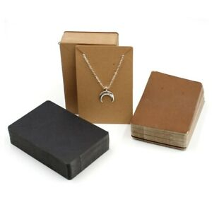 50pcs/lot Earrings and Necklaces Display Cards Cardboard Packaging Hang Jewelry