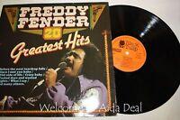 "Freddy Fenderc - 20 Greatest Hits LP 12"" (VG)"