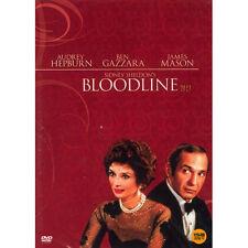 Sidney Sheldon's Bloodline,1979 (DVD,All,New) Audrey Hepburn, Ben Gazzara, Jame