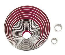 Eva 041296 - 11 Stampini lisci acciaio inox
