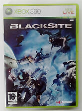 BLACKSITE XBOX 360 EUROPEAN PAL USED GOOD CONDITION (We combine shipping)