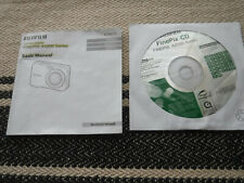 BASIC MANUAL & CD ONLY for Fujifilm FinePix AX500Series Digital Camera NO CAMERA
