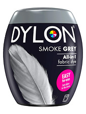 Dylon Washing Machine Fabric & Clothes Dye Pod With Color Smoke Grey Size 350g