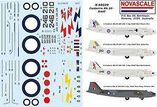 RAAF Mk20 Canberra Decals 1/48 Scale N48039
