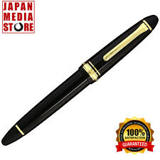 Sailor 1911 Large Black GT 21K Gold Medium Point Fountain Pen 11-2021-420