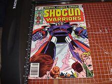 Shogun Warriors #7 Marvel Comics Aug 1979 Raydeen cover Mattel Herb Trimpe art