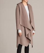 All Saints ELAIA COAT in Caramel Wool / Acrylic Blend. Size M