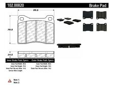 Disc Brake Pad Set-BB Front Centric 102.00820