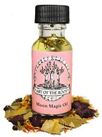 Moon Magic Oil Intuition Knowledge Power Lunar Spells Hoodoo Voodoo Wiccan Pagan