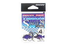 Decoy Single 29 Trailer Single Hook Size 4 (9647)