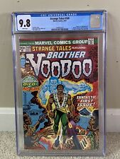 Strange Tales #169 CGC 9.8 White Pages 1st Brother Voodoo. Highest graded!!