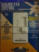 Ceiling Fan Control Wall Switch 3 Speeds 815L By Harbor Breeze