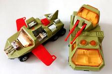 MATCHBOX Adventure 2000 - Crusader K-2003 & Flight Hunter K-2002 (1977)