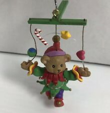 Juggling Jester Carlton Cards Christmas Ornament Bear