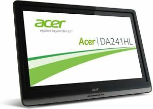 "24"" grande monitor TOUCH SCREEN Full HD luminosissimo Acer DA241HL"