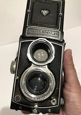 Rolleicord TLR camera w/ Carl Zeiss Triotar 3.5 75mm Lens As-Is