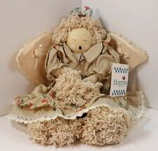 Moppins Angel Cute Country Fabric Mop Shelf Sitter Coyne & Company