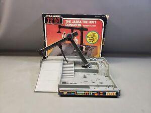 Vintage Kenner Star Wars Jabba the Hutt Dungeon Acton Playset w/ Original Box