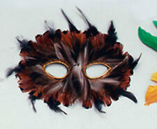 Owl Feather Masquerade Eye Mask Fancy Dress