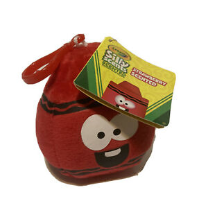 Crayola Scented Backpack Buddies Red Strawberry Keychain Clip