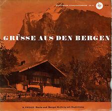 Grüsse aus den Bergen Schallplatte 8. Folge Maria und Margot Hellwig