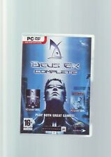 DEUS EX COMPLETE - DEUS EX 1 & 2 INVISIBLE WAR - PC GAMES Fast Post COMPLETE VGC