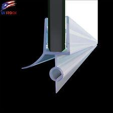 "ELEGANT Fit 3/8"" Frameless Shower Door Sweep Bottom Seal Wipe Drip Rail 36"""