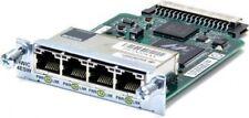 Genuine Cisco HWIC-4ESW 4 Port 10/100 Switch Interface Card Tested