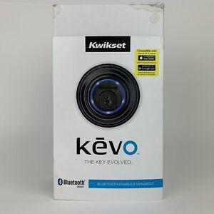 Kwikset Kevo 1st Gen Bluetooth Smart Lock Venetian Bronz 99250-003 w/ Fob
